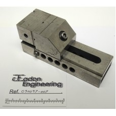 """Precision Toolmakers Vice 1 7/8"""" wide jaw x 2 1/2"""" opening, Hardened and ground."""