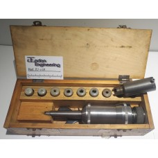 Tadco Autogard 250 Tapping Head, MT2. With collets and attachments.