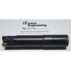 Ø32mm Iscar 4 Teeth/Tip indexable Milling Cutter, E90A-D32-W32XL.