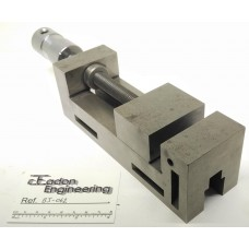 Precision Toolmakers Vice 60mm wide jaw x 80mm opening, Hardened and ground.