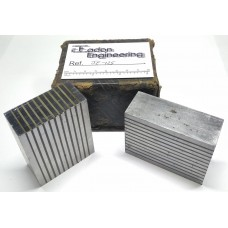 """Eclipse Magnetic Transfer Blocks, Matched Pair. 2 31/64"""" x 2 5/16"""" x 29mm Wide."""