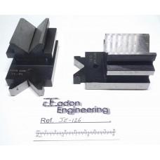 Pair of Verdict Precision Vee Blocks / DTI Stand.