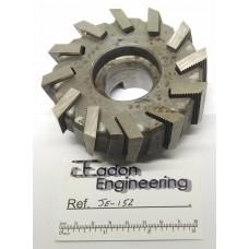 "Ø100mm Shell End Mill Milling Cutter, Ø1 1/2"" Bore. By R. Lloyd Ltd, Birmingham."