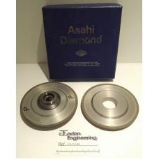 Asahi Triefus Diamond Wheel Prt. No. 63/37 D2K91N50B52A M030050, 2 off.