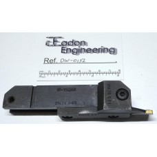 N-Widax 214.75 065, ø50 to 63mm Indexable Lathe Grooving Tool.