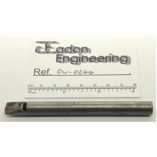 Diamond Dressing Tool With Chamfered Tip For Profile Dressing.