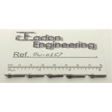 5off Small Diamond Dressing Tools for Grinding Wheels. 2mm shank.